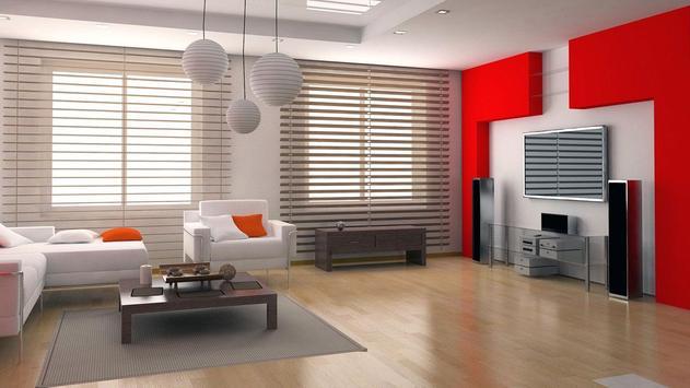 Contemporery Interior Idea Wallpaper poster