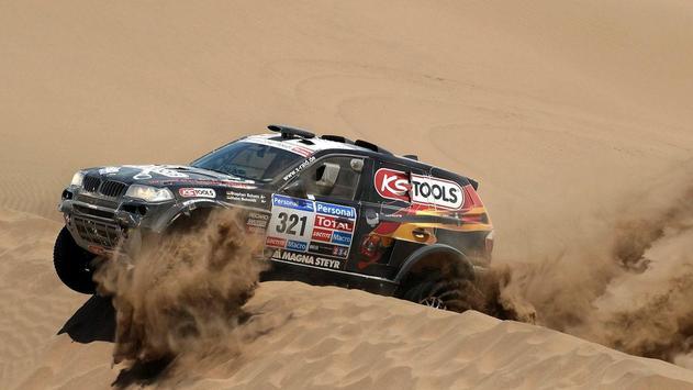 Cars For Dakar Rally Wallpaper poster