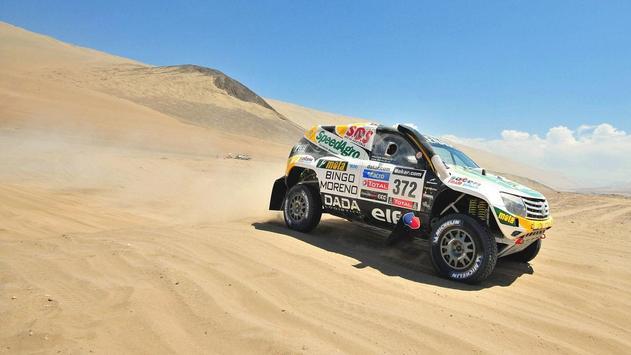 Cars For Dakar Rally Wallpaper screenshot 2