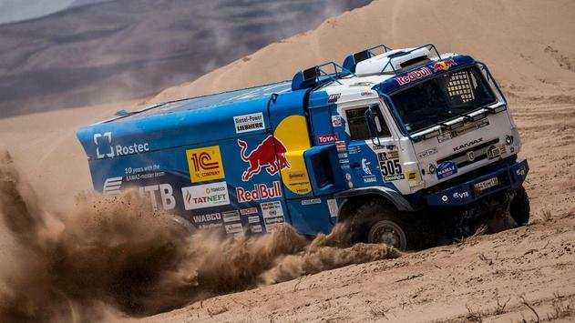 Dakar Trucks Rally Wallpaper apk screenshot