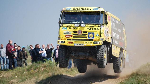 Dakar Trucks Rally Wallpaper screenshot 5