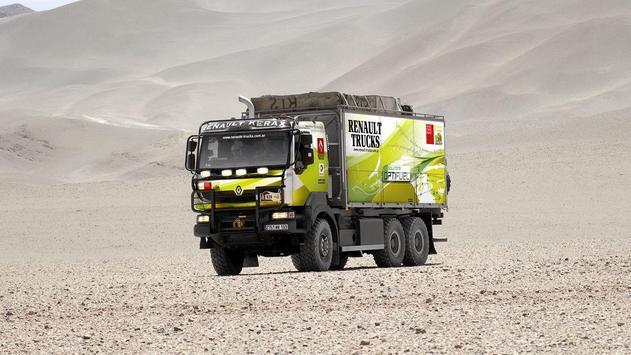 Dakar Trucks Rally Wallpaper screenshot 8