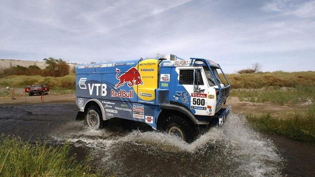 Dakar Trucks Rally Wallpaper poster