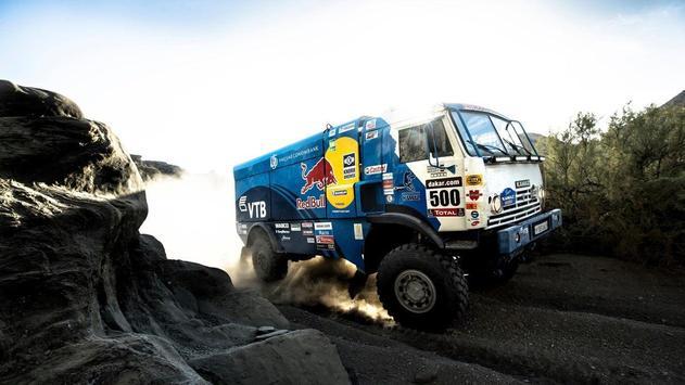 Dakar Trucks Rally Wallpaper screenshot 13