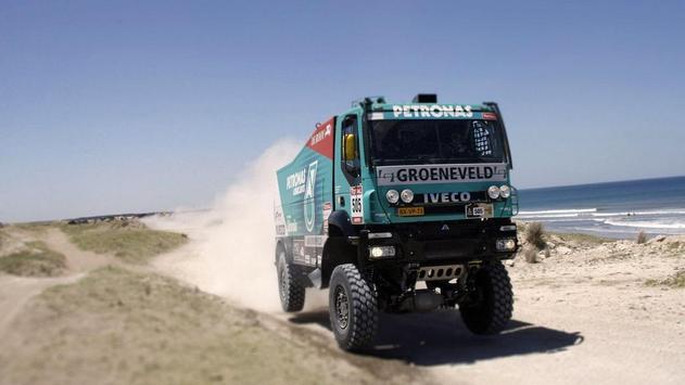 Dakar Trucks Rally Wallpaper screenshot 11