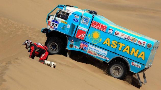 Dakar Trucks Rally Wallpaper screenshot 1
