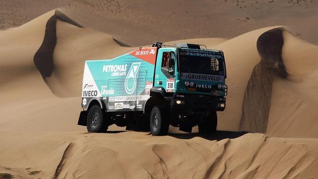 Dakar Trucks Rally Wallpaper screenshot 2