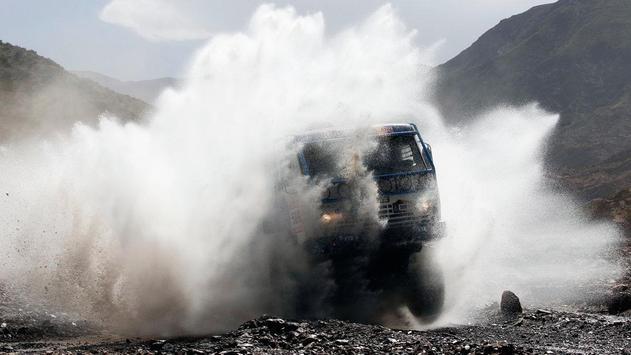 Dakar Trucks Rally Wallpaper screenshot 3