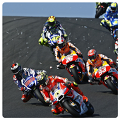 Riding For MotoGP Wallpaper icon