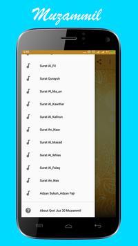 Murotal Al Qur'an Juz 30 Muzammil screenshot 2