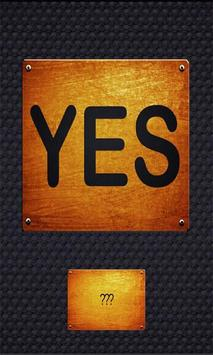 Yes or No poster