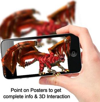 Dragon_Augmented Reality poster