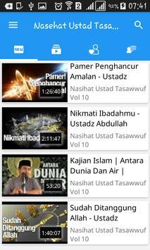 Nasehat Ustad Tasawwuf apk screenshot