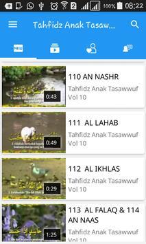 Tahfidz Anak Tasawwuf apk screenshot