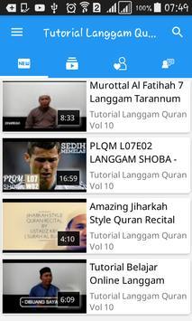 Tutorial Langgam Quran screenshot 1