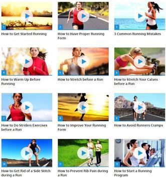 Running Technique poster