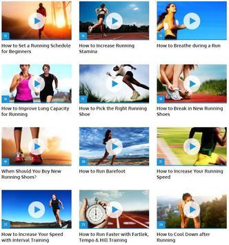 Running Technique apk screenshot
