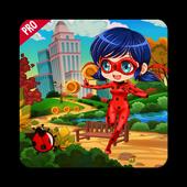 Running Ladybug Cat Adventur🍀 icon