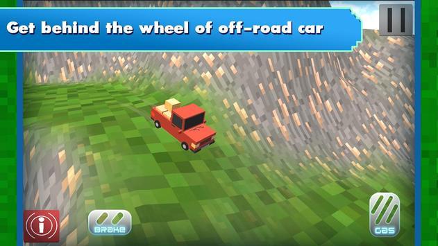 Russian Blocky Jeep screenshot 3