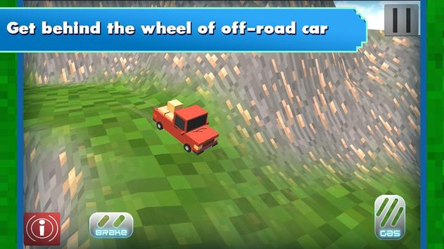 Russian Blocky Jeep screenshot 6