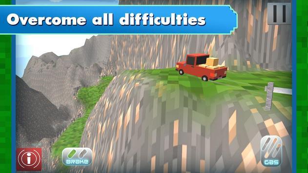Russian Blocky Jeep screenshot 7