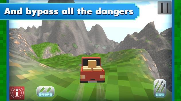 Russian Blocky Jeep screenshot 8