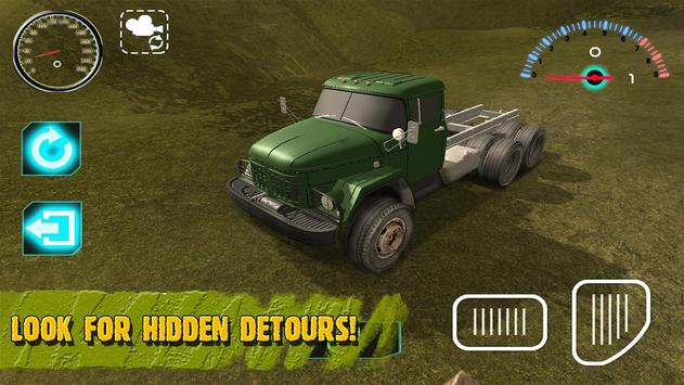 Russian Driver Truk Zil 3D apk screenshot