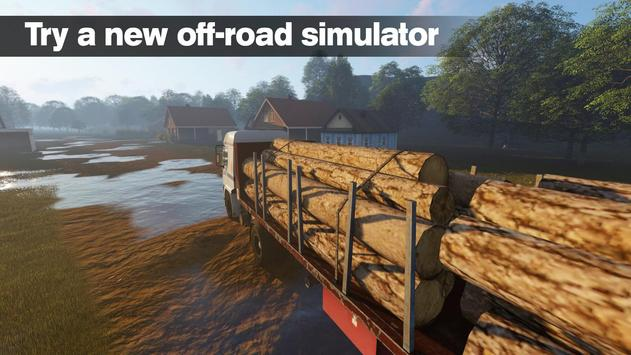 Russian Lumberjack Kamaz apk screenshot