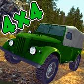 Russian Suv 4x4 Driving icon