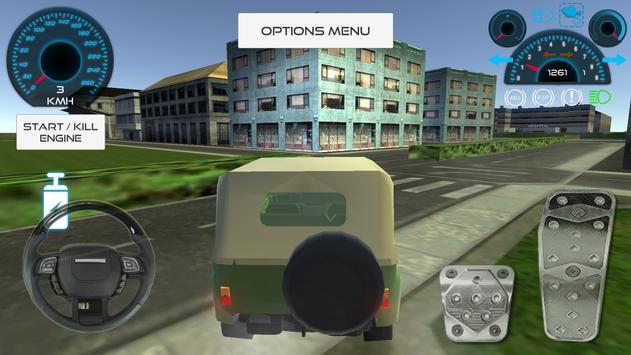 Russian Suv 4x4 Driving screenshot 2