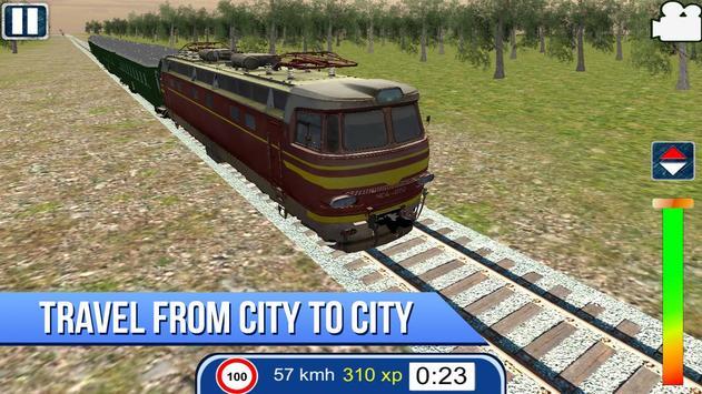 Russian Train Simulator 3D apk screenshot