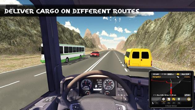 Russian Truck Driver 3D apk screenshot