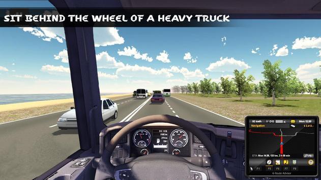 Russian Truck Driver 3D poster