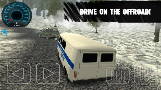 Russian UAZ Traffic Police apk screenshot