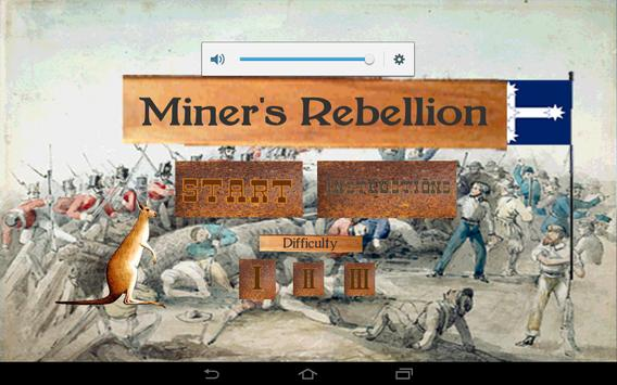 Miners Rebellion poster