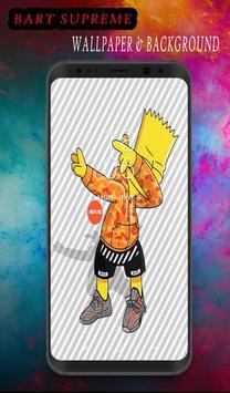 Bart Suprem Wallpaper poster
