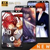 Rurouri Kenshin Samurai Wallpaper HD icon