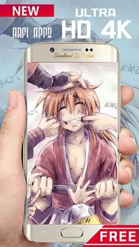 Rurouri Kenshin Samurai Wallpaper HD screenshot 13