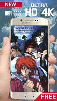 Rurouri Kenshin Samurai Wallpaper HD screenshot 1