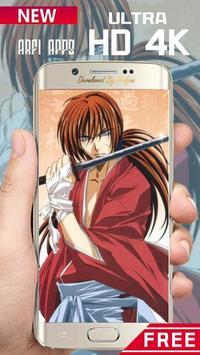 Rurouri Kenshin Samurai Wallpaper HD screenshot 2