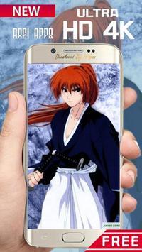 Rurouri Kenshin Samurai Wallpaper HD screenshot 6