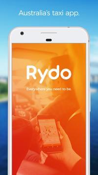 Rydo - Australia's taxi app poster