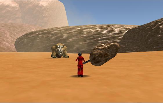 3Dアクションゲーム 化け猿討伐-モンスター猿の強襲- apk screenshot