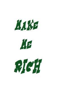 Make Me Rich poster