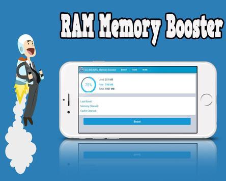 512 MB RAM Memory Booster poster