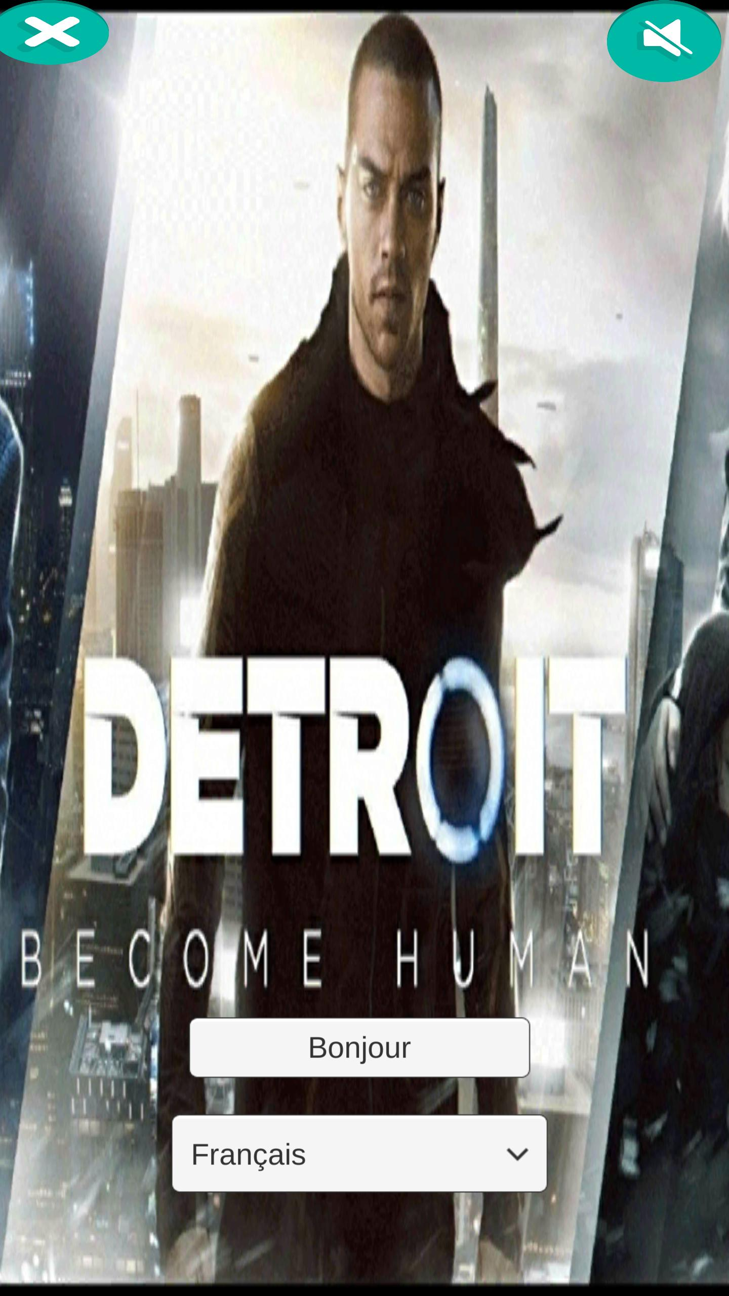 Detroit Become Human soundbox, My name is connor  for Android - APK