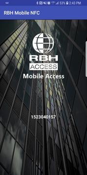 RBH Mobile NFC poster