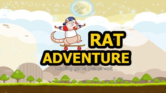 Rat Adventures Runner 2016 poster