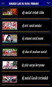 Koleksi Lagu Dj Natal Terbaru poster