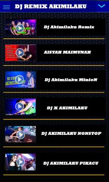 Lagu DJ AKIMILAKU Terbaru screenshot 2